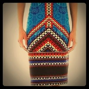 Stretch Pencil skirt